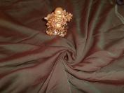 Iridescent Red / Green Shot Silk Chiffon Fabric 110cm