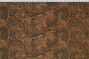 Samoan Turtle Tattoo Print Brown