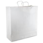 White Paper Bag With Handle 18 x 7 x 19 - 24/ bags