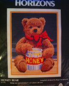 Horizons Honey Bear LS 132 Longstitch Teddy's Caught with the Honey Pot