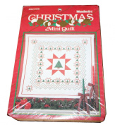 WonderArt Mini Quilt Kit - Christmas Star