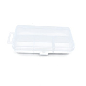 1 PCS Clear Beads Tackle Box Arts Crafts Tackle Storage Plastic Boxes Organisers Containers Case XX010