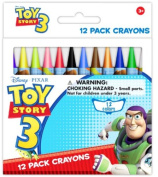 Toy Story 12 pack wax crayons 1 pcs sku# 1777092MA
