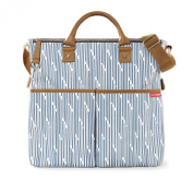 Skip Hop Duo Nappy Bag, Blueprint Stripe [Special Edition]