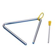 Masingo Kids Toy Percussion Musical Instrument Alloy Triangle 15cm x 13cm Educational Preschool