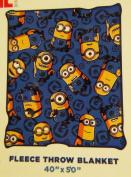 Minions 100cm x 130cm Kids Soft Fleece Throw Blanket