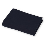 aBaby 2 Piece Jersey Knit Mini Crib Sheets Set, Navy