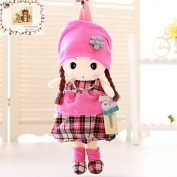 MSM Plaid Toy Doll Bag Toddler Kids Children Backpack