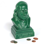 All About The Benjamins Ceramic Bank