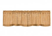 Heritage Lace Homespun Valance, 130cm by 41cm , Natural