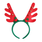 Hoter® Lovely Antlers Bells Headband, Christmas Gifts, Gift Ideas