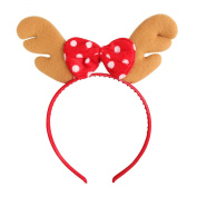 Hoter® Lovely Antlers Bow Headband, Christmas Gifts, Gift Ideas
