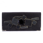 Giorgio Armani Women's Jewelled Clutch Light Grey