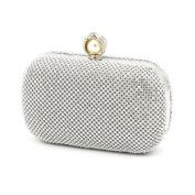 Kingluck Rhinestones with pearl Special Ocassion wedding handbags /Evening Clutches