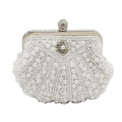 Kingluck Clutches With Pearls For Wedding/Special Occasion