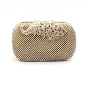 Kingluck Rhinestone Women Polyester / Metal Minaudiere Clutch / Evening Bag