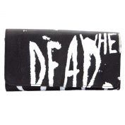 "Religion Women's ""Dead When I'm Sleeping"" Wallet One Size Black"