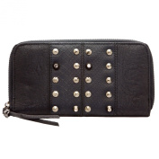 Religion Women's Studded Night Adder Purse Wallet One Size Black