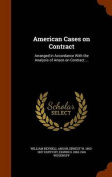 American Cases on Contract