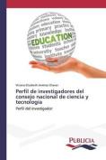 Perfil de Investigadores del Consejo Nacional de Ciencia y Tecnologia [Spanish]