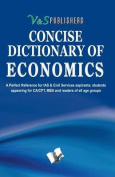Concise Dictionary of Economics
