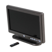 Grey 1:12 Resin Television TV Model Wide Screen w/ Remote Miniature Toy Doll House Accessory Gift