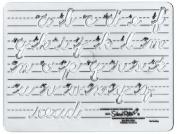 School Rite Sr-4261 Template Cursive Lowercase 1 Letters