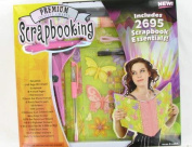 Premuim Quality Crafts 2,695 Piece Scrapbooking Kit