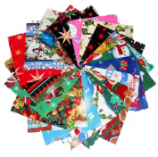 80 13cm Beautiful Christmas # 2 Charm Pack