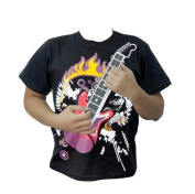 ElementDigital(TM)Fashion New Style 12 Major Chords Electric Rock Guitar T-shirt and Amplifier Combination Set