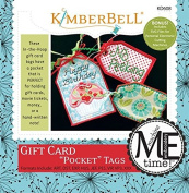 "Kimberbell Gift Card ""Pocket"" Tags Machine Embroidery Design CD KD608"