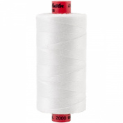 Mettler Metrosene 100% Core Spun Polyester Thread, 1, 097 yd, White