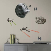 RoomMates Star Wars Episode VII Spaceships Peel and Stick Wall Decals