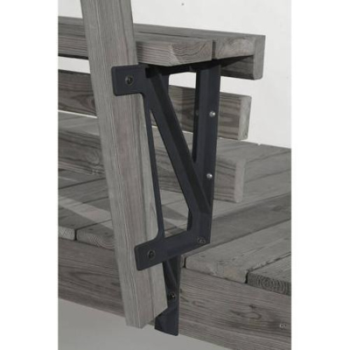 2x4 Basics Bench Bracket For Decks Black Delivery Is Free Ebay