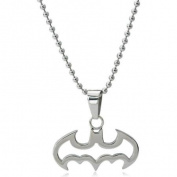 DC Comics Batman Stainless Steel Reversible Dog Tag Pendant