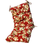 Greendale Home Fashions Outdoor High Back Chair Cushion, Roma Floral