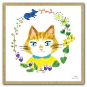 Cat's Friends Greengift Notecards