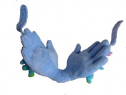 Mother's Hand Headrest Head Support for Kids, Blue