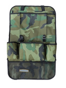 58*36cm Cool Camouflage Backseat Car Organzier with 9 Pocket , Auto Seat Back Cover Protector and Storage Bag, 1680D Oxford