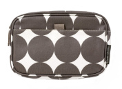 DwellStudio Baby Dots Travel Case, Small, Chocolate