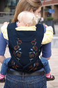 The BEST Baby Sling Carrier Can Wrap Both Front and Back - A Mei Tei Style Carrier Is Considered The Most Stable and Most Comfortable Available.