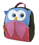 Dabbawalla Bags Preschool Toddler Backpack, Hoot Owl