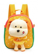 PW Surplus Child's Favourite Plush Mini Backpack With Puppy Doll Perfect for Kindergarten, Sleep overs, Includes Orthopaedic Design For Ages 1-5, In Delightful
