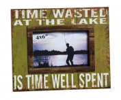 Cypress Home Time Well Spent 4x6 Wooden Picture Frame