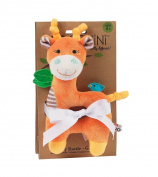 Baby Buddy Rattle - Giraffe/Orange