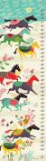 Oopsy Daisy Growth Charts Wild Horses by Helen Dardik, 30cm by 110cm
