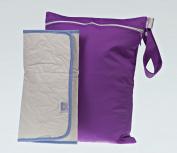 Cutietots Wet Bag - Purple