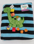 Taggies Silly Dinosaur Cosy Blanket