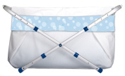 Bibabad, 70-90 Cms Adjustable in Length and Width, Blue Bubble