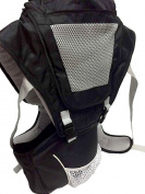 Babi Bambino Best New Baby Ergonomic Carrier Sling Soft Hip Seat Headphone Port and Hood
